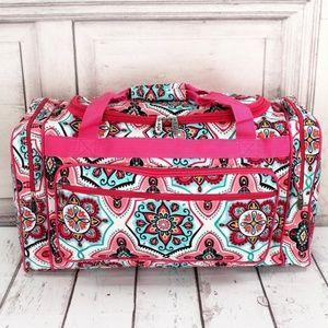 "Handbags - Pretty in Pink Duffle- 23"" inch"